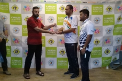 Secretary General PCF Mr Murtaza K Zulfee at 5th Carrom World Cup Prize Distribution Event with President International Carrom Federation Josef Meyer and others (7)
